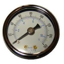 最もよい 空気圧縮機のデジタル圧力計、液体は圧力計を満たしました